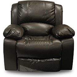 These Big Squishy Leather (?) Chairs Are Epidemic In American Homes (again,  Iu0027m Gauging By All The Home Design Shows I Watch). They Completely Creep Me  Out ...