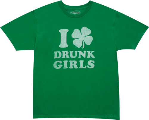 I_Shamrock_Drunk_Girls_Green-T