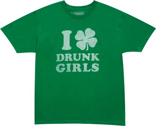 I_Shamrock_Drunk_Girls_Green-T